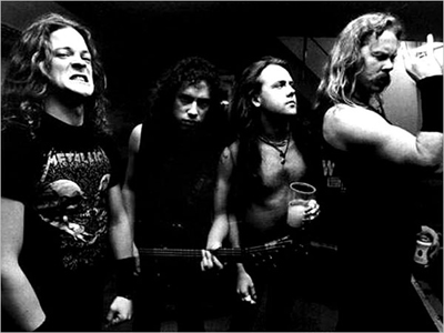 Metallica w/ that Jason Newsted guy