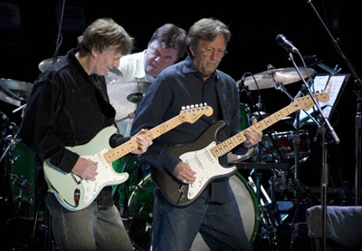 Steve Winwood and Eric Clapton