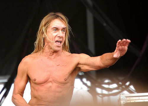Iggy Pop at Virgin Festival 2008